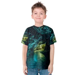 WAITOMO GLOWWORM Kid s Cotton Tee