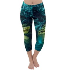 Waitomo Glowworm Capri Winter Leggings