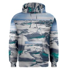 TURQUOISE ICE Men s Pullover Hoodies
