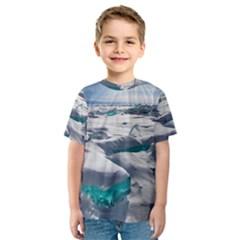 TURQUOISE ICE Kid s Sport Mesh Tees