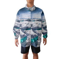 TURQUOISE ICE Wind Breaker (Kids)