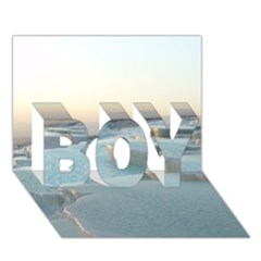 TRAVERTINE POOLS BOY 3D Greeting Card (7x5)
