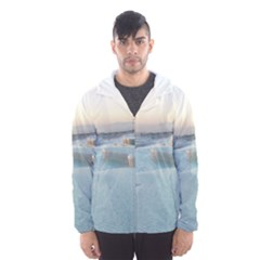 Travertine Pools Hooded Wind Breaker (men)