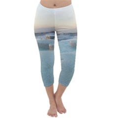 TRAVERTINE POOLS Capri Winter Leggings