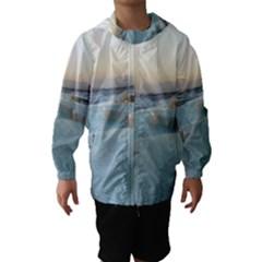 TRAVERTINE POOLS Hooded Wind Breaker (Kids)