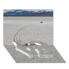 Sailing Stones Love Bottom 3d Greeting Card (7x5)