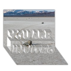 SAILING STONES YOU ARE INVITED 3D Greeting Card (7x5)
