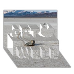 Sailing Stones Get Well 3d Greeting Card (7x5)