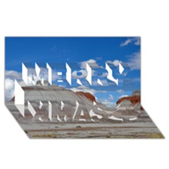 PETRIFIED FORREST TEPEES Merry Xmas 3D Greeting Card (8x4)