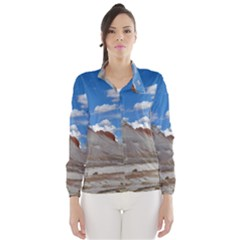 Petrified Forrest Tepees Wind Breaker (women)