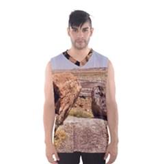 PETRIFIED DESERT Men s Basketball Tank Top