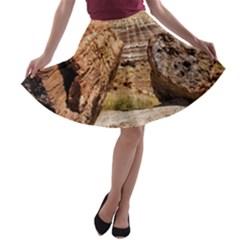 PETRIFIED DESERT A-line Skater Skirt