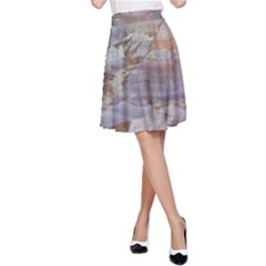 PAINTED DESERT A-Line Skirt