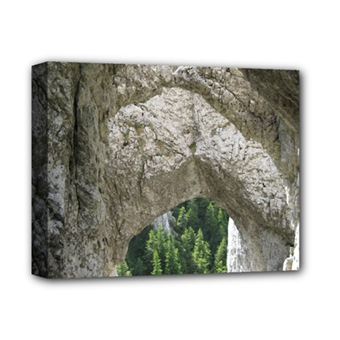 LIMESTONE FORMATIONS Deluxe Canvas 14  x 11