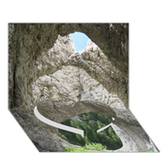 LIMESTONE FORMATIONS Heart Bottom 3D Greeting Card (7x5)