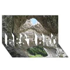 Limestone Formations Best Bro 3d Greeting Card (8x4)