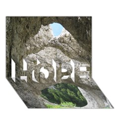 LIMESTONE FORMATIONS HOPE 3D Greeting Card (7x5)