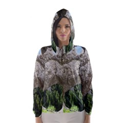 LIMESTONE FORMATIONS Hooded Wind Breaker (Women)