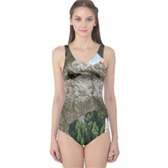 LIMESTONE FORMATIONS One Piece Swimsuit