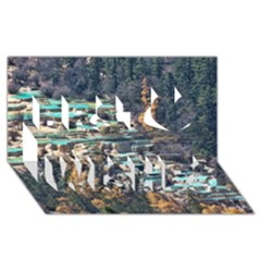 HUANGLONG POOLS Best Wish 3D Greeting Card (8x4)