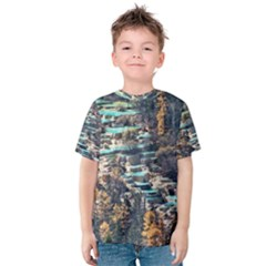 Huanglong Pools Kid s Cotton Tee