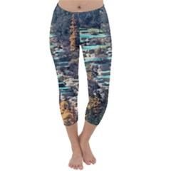 HUANGLONG POOLS Capri Winter Leggings