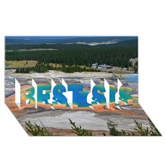 GRAND PRISMATIC BEST SIS 3D Greeting Card (8x4)