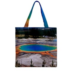 GRAND PRISMATIC Grocery Tote Bags