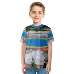 GRAND PRISMATIC Kid s Sport Mesh Tees