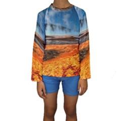 FIRE RIVER Kid s Long Sleeve Swimwear
