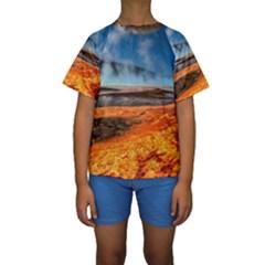 FIRE RIVER Kid s Short Sleeve Swimwear