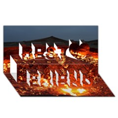 DOOR TO HELL Best Friends 3D Greeting Card (8x4)
