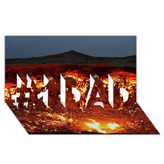 Door To Hell #1 Dad 3d Greeting Card (8x4)