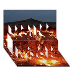Door To Hell You Rock 3d Greeting Card (7x5)
