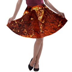 Door To Hell A Line Skater Skirt