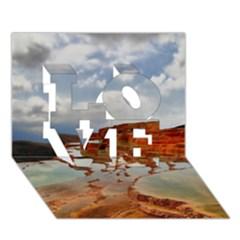 BADAB-E SURT LOVE 3D Greeting Card (7x5)