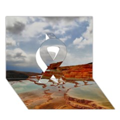 BADAB-E SURT Ribbon 3D Greeting Card (7x5)