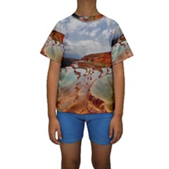 BADAB-E SURT Kid s Short Sleeve Swimwear