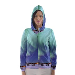 AURORA BOREALIS Hooded Wind Breaker (Women)