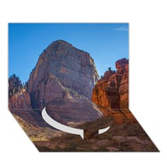 ZION NATIONAL PARK Circle Bottom 3D Greeting Card (7x5)