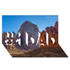 Zion National Park #1 Dad 3d Greeting Card (8x4)