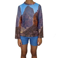 ZION NATIONAL PARK Kid s Long Sleeve Swimwear