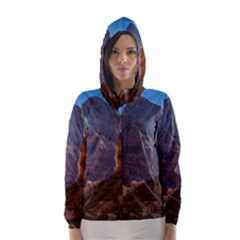 ZION NATIONAL PARK Hooded Wind Breaker (Women)