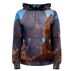 ZION NATIONAL PARK Women s Pullover Hoodies