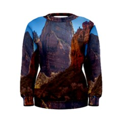 ZION NATIONAL PARK Women s Sweatshirts