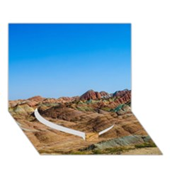 ZHANGYE DANXIA Heart Bottom 3D Greeting Card (7x5)