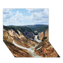 YELLOWSTONE GC Heart Bottom 3D Greeting Card (7x5)