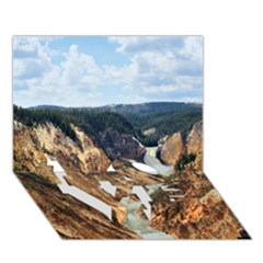 Yellowstone Gc Love Bottom 3d Greeting Card (7x5)