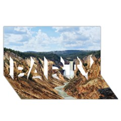 YELLOWSTONE GC PARTY 3D Greeting Card (8x4)