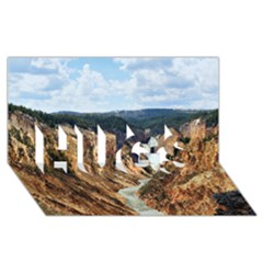 YELLOWSTONE GC HUGS 3D Greeting Card (8x4)